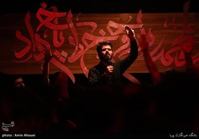 مداحی میثم مطیعی در عزاداری شب شهادت حضرت زهرا(س)-هیئت میثاق با شهدا