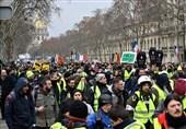 صدر میکروں کی حکومت کے خلاف احتجاج جاری