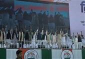 تظاهرات نیم میلیون نفری مردم هند علیه سیاستهای دولت