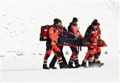 سقوط وحشتناک اسکیباز آلمانی در رقابتهای قهرمانی جهان