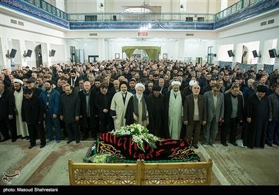 مراسم تشییع پیکر سردار احمد فضائلی