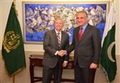 وزیرخارجہ شاہ محمود قریشی سے امریکی سینٹر کی ملاقات
