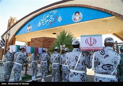 تشییع دو شهید گمنام در مجتمع غنی سازی شهید علیمحمدی