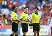 قضاوت تیم داوری ایران در مسابقات قهرمانی زیر ۲۳ سال آسیا