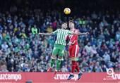 فوتبال جهان  پیروزی دقیقه آخر بتیس مقابل جیرونا