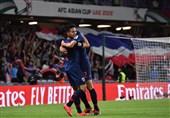 جام ملتهای آسیا  برتری یک نیمهای تایلند مقابل چین