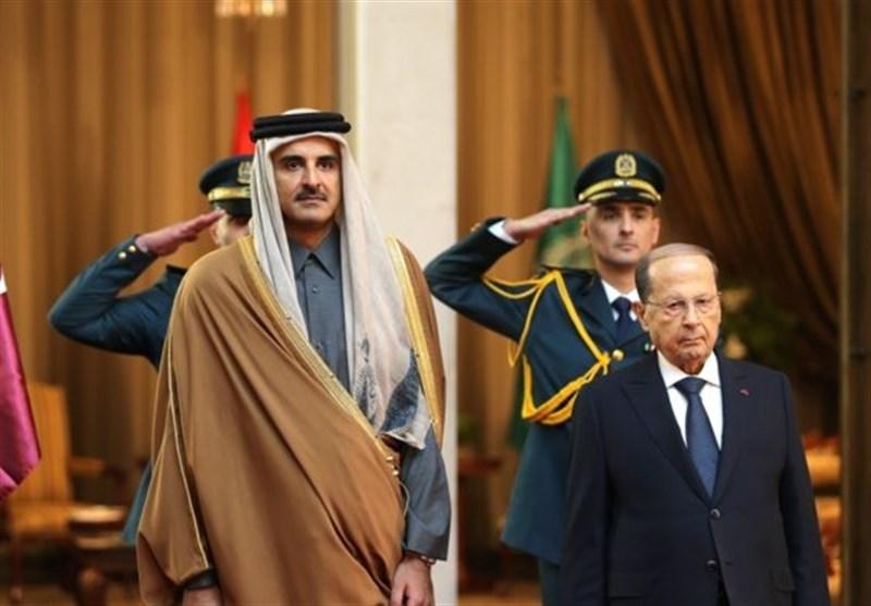 علت مشارکت امیر قطر در نشست اقتصادی بیروت