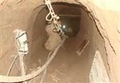 زمینگیر شدن سارقان اشیای تاریخی در تونل 60 متری + جزئیات