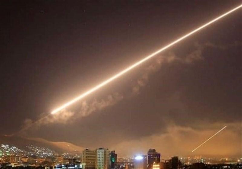 الدفاعات الجویة السوریة تتصدى لعدوان صهیونی وتمنعه من تحقیق أهدافه