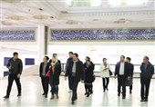 بازدید میهمان ویژه نمایشگاه کتاب از مصلی امام خمینی(ره)