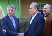دیدار سفیر صربستان با رئیس فدراسیون بسکتبال/ تیم ملی ایران به مصاف صربستان میرود