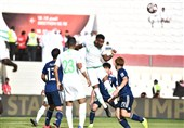 جام ملتهای آسیا  صعود ژاپن به مرحله یک چهارم نهایی با حذف عربستان