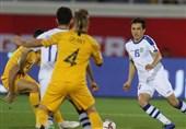 جام ملتهای آسیا  تساوی استرالیا و ازبکستان در نیمه اول