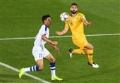 جام ملتهای آسیا  دیدار استرالیا - ازبکستان به وقتهای اضافه رفت