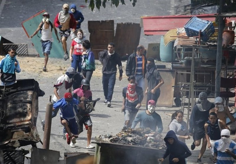 واکنش فرانسه به رویدادهای سیاسی ونزوئلا