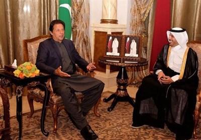وزیراعظم عمران خان کی دوحہ میں قطری ہم منصب سے ملاقات