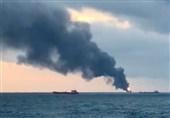 بحر اسود میں 2 کارگو جہازوں میں آگ، 14 افراد ہلاک