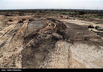 بهصرفه ترین و کم هزینه ترین روش مقابله با ریزگردها دادن حقابه تالاب هاست. درحالحاضر حقابه این تالاب ها پشت تاج سد عظیم کرخه که بزرگترین سد عظیم خاکی خاورمیانه است قرار گرفته است .