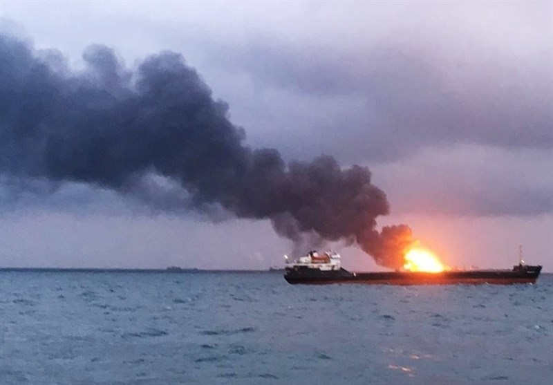 At Least 11 Killed as Explosion Sets 2 Ships Ablaze in Kerch Strait (+Video)