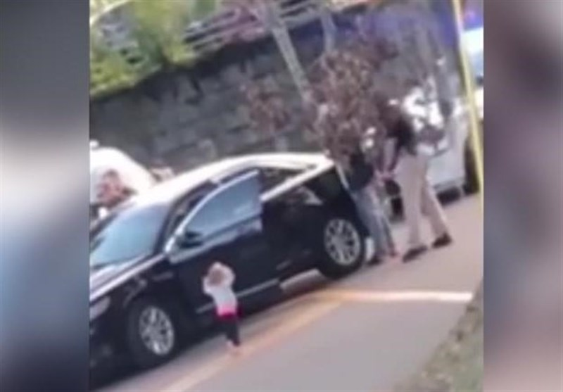 Video Released Showing Toddler Walking towards US Police with Hands Up