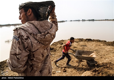 روستاهای سیل زده شعیبیه - خوزستان