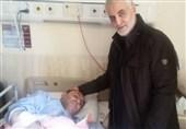 پیکر جانباز شهید سردار رجایی در کرمان تشییع شد