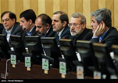 سخنرانی علی لاریجانی رئیس مجلس شورای اسلامی در جلسه کمیسیون تلفیق لایحه بودجه سال 98 کل کشور