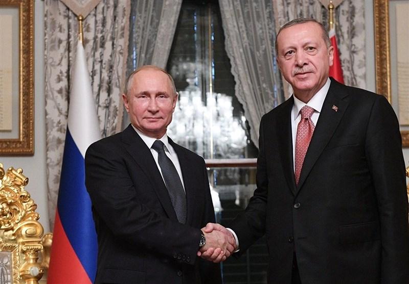 مباحثات بین بوتین وأردوغان فی موسکو
