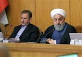 روحانی: دولت در خط مقدم مبارزه است/ اگر در قدم اول برابر آمریکا تسلیم شویم تا آخر باید تسلیم شد