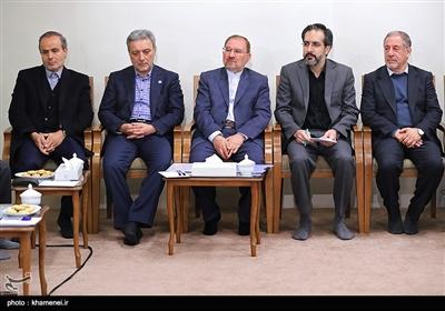 دیدار جمعی از مسئولان و محققان پژوهشکده علوم شناختی با مقام معظم رهبری