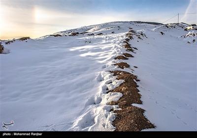 الطبیعة الثلجیة فی دیلمان