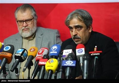 سید مصطفی خوش چشم در نشست انجمن روزنامهنگاران مسلمان در خصوص محکومیت بازداشت غیرقانونی مرضیه هاشمی خبرنگار و گزارشگر شبکه پرستیوی توسط افبیای در آمریکا