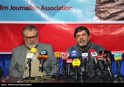 نادر طالبزاده در نشست انجمن روزنامهنگاران مسلمان در خصوص محکومیت بازداشت غیرقانونی مرضیه هاشمی خبرنگار و گزارشگر شبکه پرستیوی توسط افبیای در آمریکا