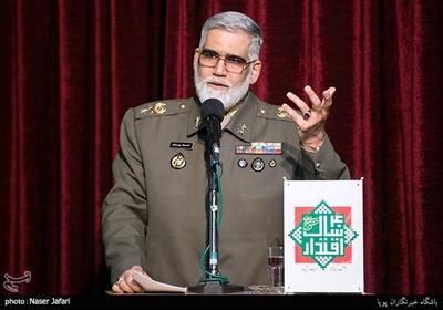سخنرانی امیر احمدرضا پوردستان در همایش چهل سال اقتدار ارتش