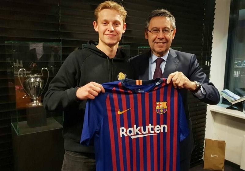 فوتبال جهان  پدیده آژاکس به بارسلونا پیوست