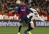 فوتبال جهان بارسلونا در آستانه حذف از جام حذفی اسپانیا قرار گرفت