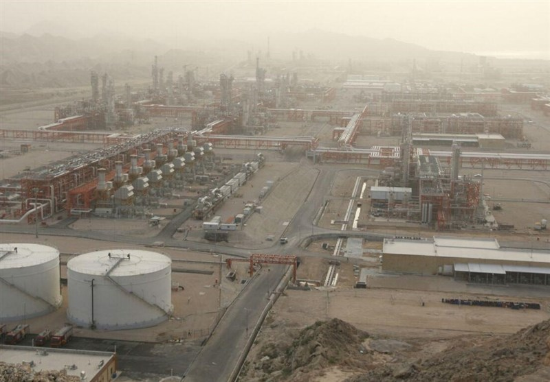 بوشهر|4 ردیف شیرینسازی پالایشگاه فاز 13 پارس جنوبی وارد مدار تولید شد