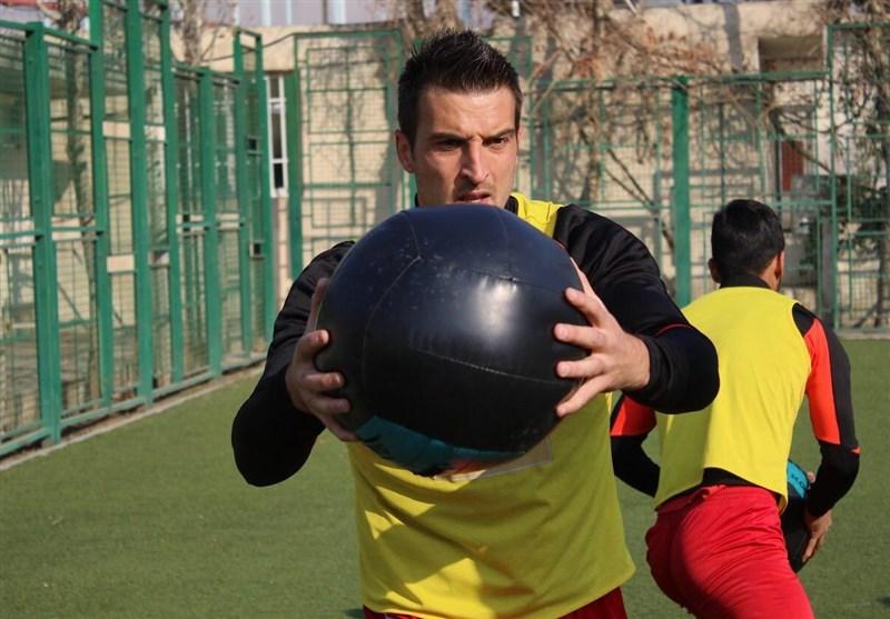 اولین تمرین بودیمیر با پرسپولیس در تهران