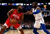 پیش فصل NBA| پیروزی راکتس با درخشش هاردن/ فیلا در وقت اضافه شکست خورد