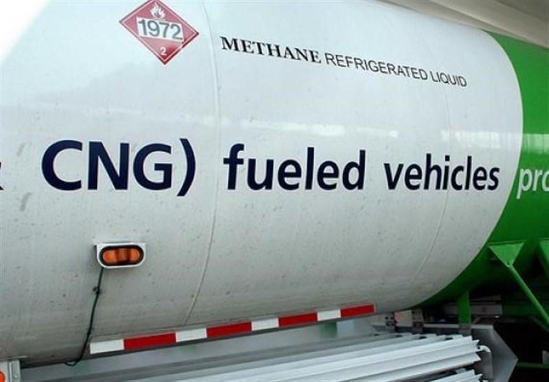 کاهش 40 میلیون لیتری مصرف بنزین با توسعه CNG