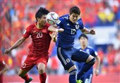 جام ملتهای آسیا| تساوی یک نیمهای ژاپن و ویتنام/ VAR گل ساموراییها را سوزاند