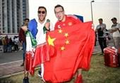 گزارش خبرنگار اعزامی تسنیم از امارات| حضور شمار هواداران ایرانی در ورزشگاه/ خبرنگاران چینی ناامید از پیروزی+ عکس
