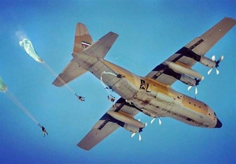 اخبار رزمایش| رکورد زنی تیپ 55 هوابرد ارتش در انتقال نیرو