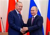 اردوغان به روسیه رفت