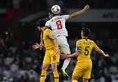 جام ملتهای آسیا| تساوی یک نیمهای امارات و استرالیا