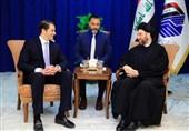 تاکید حکیم بر مخالفت با تحریمهای یکجانبه در دیدار با یک مقام آمریکایی