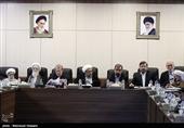 مهمانان ویژه جلسه امروز مجمع تشخیص برای بررسی پالرمو + عکس