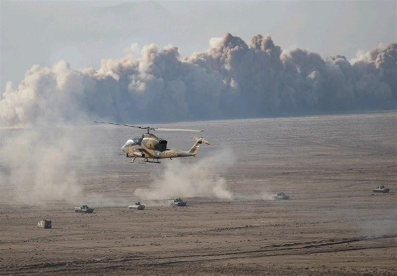 رزمایش ارتش|دیوار آتش 6 کیلومتری توسط نزاجا