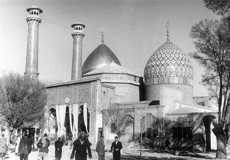 حرم عبدالعظیم حسنی در قالب تصویر 74 سال قبل