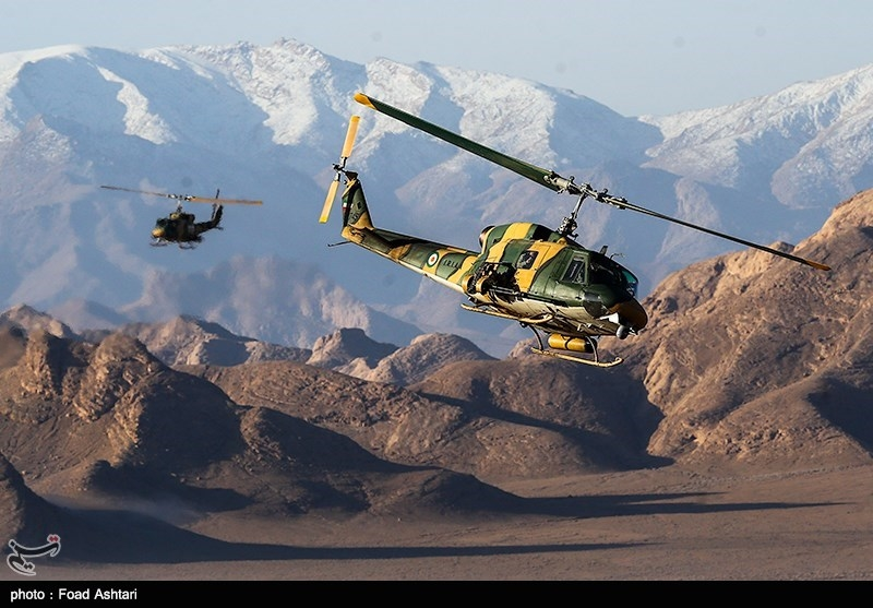 امیر حیدری: در رزمایش نیروی زمینی ارتش از تجهیزات جدید استفاده شده است